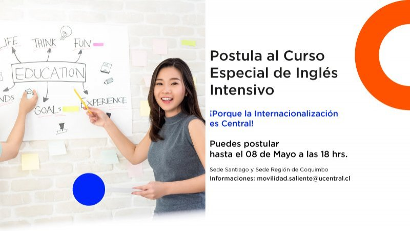 "Se extiende plazo para postular a curso intensivo de Inglés de preparación para el Curso Virtual ""The juridical-political order in Latin America and its relations with Canada"""